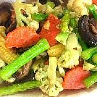 Stir-Fried Mixed Vegetable with Oyster Sauce