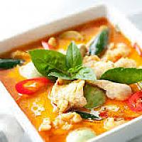 Red Curry with Chicken and Mixed Vegetable