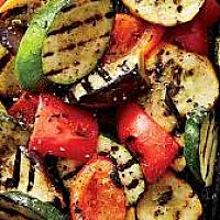 Grilled Mixed Vegetable with Butter and Garlic
