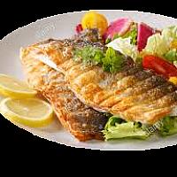 Deep Fried Fillet Seabass with Tartar Sauce