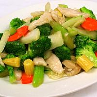 Fried Mixed Vegetable