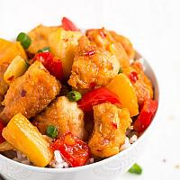 Fried Sweet Chill with Pork or Chicken