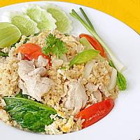 Fried Rice with Chicken or Pork