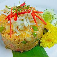 Fried Rice Thai Curry Chicken or Pork
