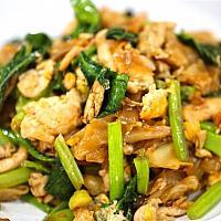 Fried Big Noodle Chicken or Pork