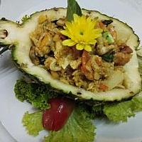 Seafood Rice Pineapple