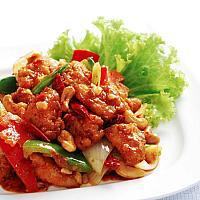 Fried Cashew nut  Chicken or Pork
