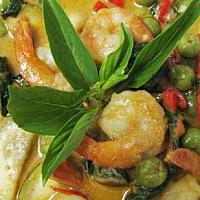 Green Curry with Chicken or Pork