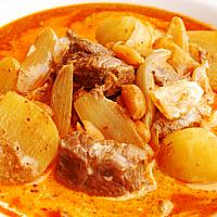 Massaman Curry Chicken or Pork