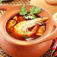 Tom Yam Seafood Or Prawn