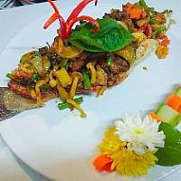 Deep Fried Whole Seabass Thai Curry Sauce