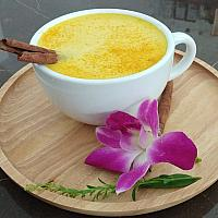 Vegan Golden Milk (Ayurvedic Milk) 180ml.