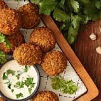 11. Chick pies patties (Aegean recipes no falafel)