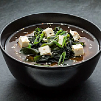 Classic Japanese miso soup