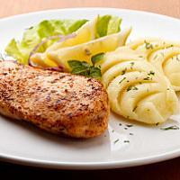 Chicken breast in Italian herbs marinade