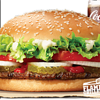WHOPPER VALUE MEAL (BEEF)