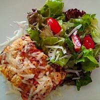 Lasagna & Salad