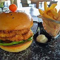 Chicken Tonkatsu Burger