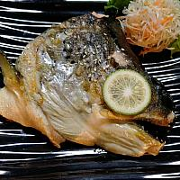 Grilled Salmon Head Teriyaki