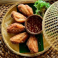 cocoon fried chicken wings