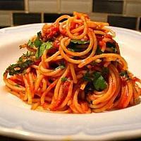 Spaghetti arranbiata