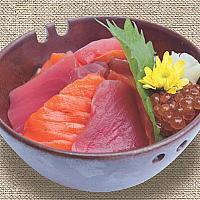 DO-05 Salmon  & Tuna & Ikura Don