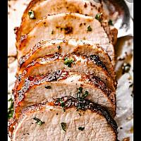Pork Fillet with Black Pepper sauce