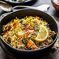 SPICED VEGETABLE BIRYANI