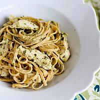 FETTUCCINE PESTO CHICKEN