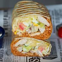 Chicken BLT Burrito