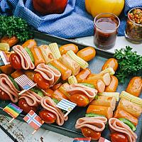 Ham & Sausages BBQ
