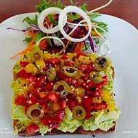 Hummus Avocado Toast