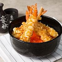 TEN DON (SHRIMPS TEMPURA)