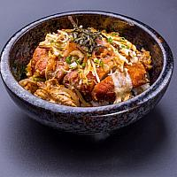DONBURY PORK OR CHICKEN (RICE BOWL)