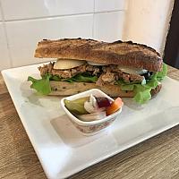 Sourdough Baguette Sandwich(tuna)