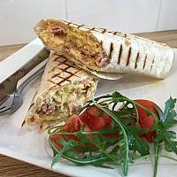 Breakfast wrap potato,egg,cheese