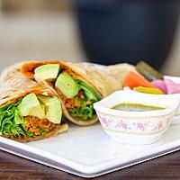 Tortilla wrap (vegan)