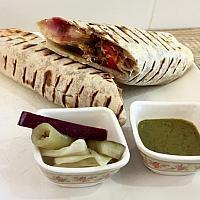 Burrito wrap (chicken fajita)