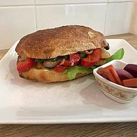 Ciabatta Sandwich(Chicken,Bacon)