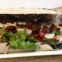House sandwich (vegan)