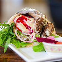 Pita sandwich wrap (vegan)