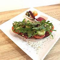 Za'atar Hummus Toast (Vegan)
