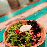 Farmer salad from Lyon France