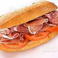 Parma ham sandwich