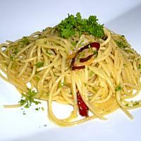 Spaghetti Aglio Olio Pepperoncino A.O.P
