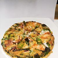 Haemul Pajeon/พิซซ่าซีฟู้ดแพนเค้ก