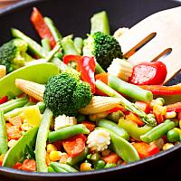 Mixed Fried Vegetables