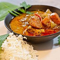 Chicken Massaman Curry with Potatoes
