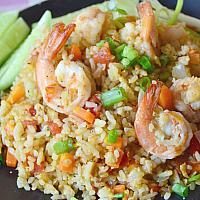 fried rice seafood