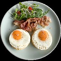 Bacon & Eggs Muffin